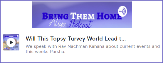 Podcast: We live in a Topsy Turvey World