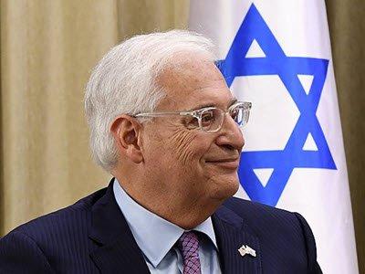 US Ambassador David Friedman